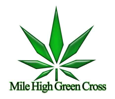 Mile high green cross